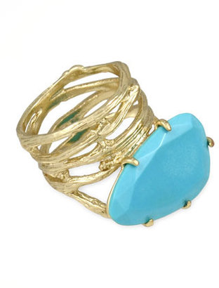 Kendra Scott Cora Coil Ring, Turquoise