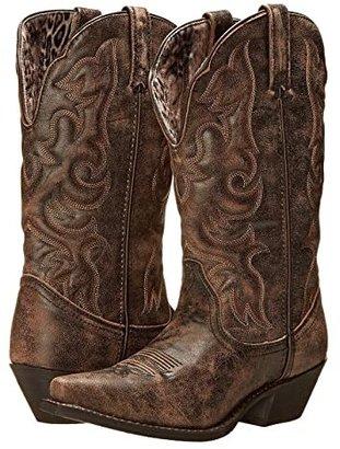 Laredo Access (Black/Tan) Women's Boots