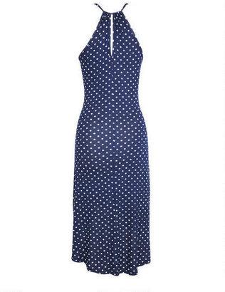 Delia's High-Low Dress in Polka Dot