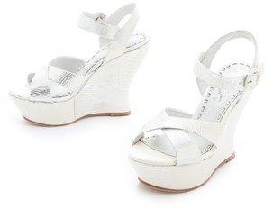 Alice + Olivia Juliet Wedge Sandals