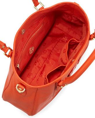 Tory Burch Amanda Classic Hobo Bag, Blood Orange