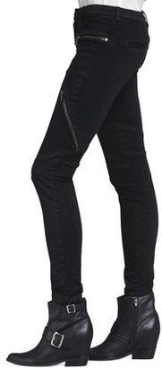Blank Second Skin Utility Jeans, Black