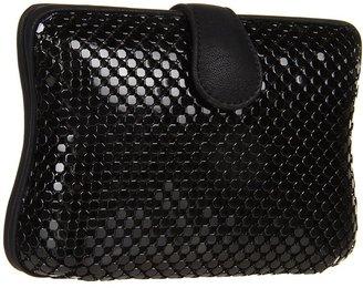 Jessica McClintock Square Mesh Minaudi re (Black) - Bags and Luggage