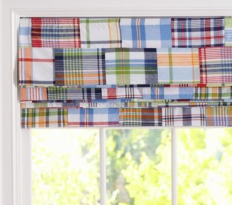 Pottery Barn Kids Madras Roman Shade