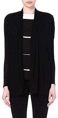 Helmut Lang Draped modal cardigan