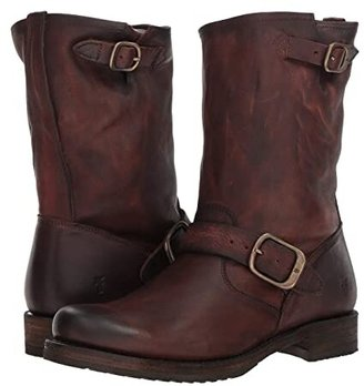 Frye Veronica Short (Redwood Washed Oiled Vintage) Women's Boots