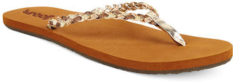 Reef Twisted Stars Flip Flops $32 thestylecure.com