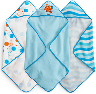 Disney Finding Nemo Hooded Towel Set for Baby - Personalizable