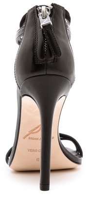 Brian Atwood Lydia T Strap Sandals