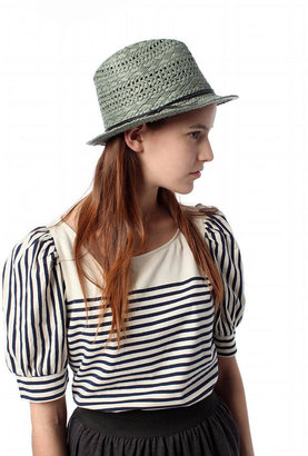 Urban Outfitters Staring at Stars Weave Straw Fedora