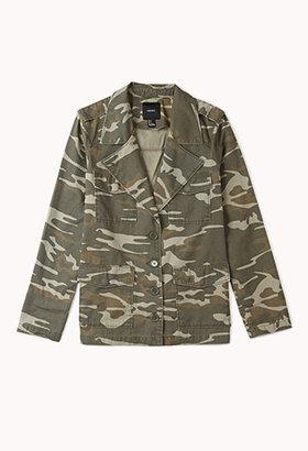 Forever 21 Favorite Camo Jacket