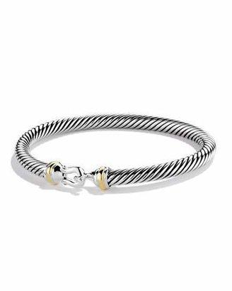 David Yurman Cable Buckle Bracelet $495 thestylecure.com