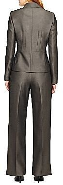 Le Suit 2-Button Notch Collar Pant Suit
