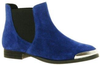 Shellys London Brazdova Blue Chelsea Boots - Blue