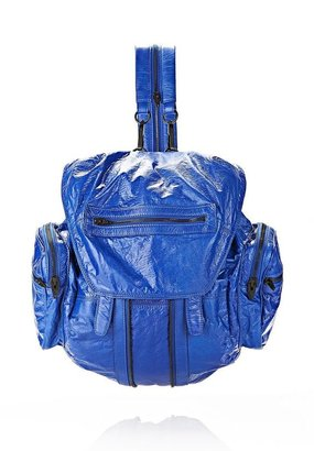 Alexander Wang Marti Backpack In Nile With Matte Black