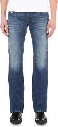 Diesel Mens Blue Slim-Fit Bootcut Jeans, Size: 3232