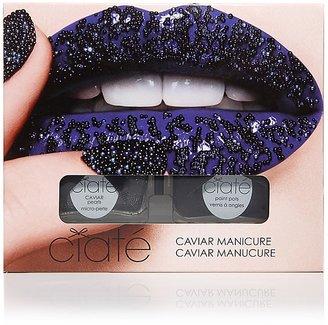 Ciaté Caviar Manicure Set, Black Pearls