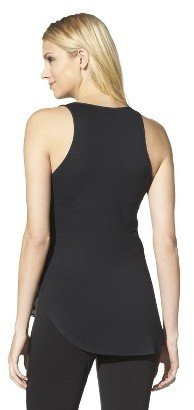 Mossimo Women's Sleeveless Knit/Woven Layering Tank - Assorted Colors