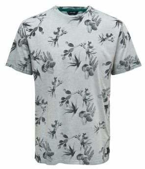 ONLY & SONS Oil Dye Printed Cotton Tee