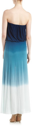 Young Fabulous & Broke Young Fabulous and Broke Ombre Strapless Maxi Dress, Navy