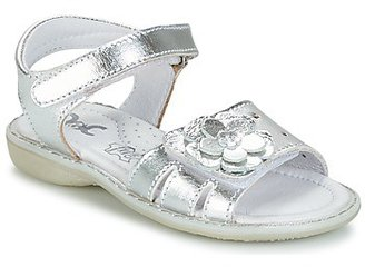 Citrouille et Compagnie BADEKA girls's Sandals in Silver