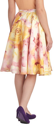 Ikebana for All Skirt in Roses