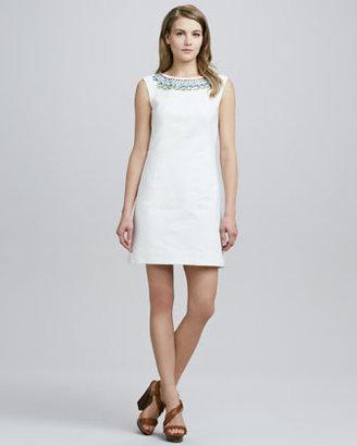 Shoshanna Treya Beaded Shift Dress