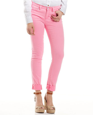 Calvin Klein Jeans Calvin Klein Jeans, Skinny Cuffed Jeans, Optic Pink Wash