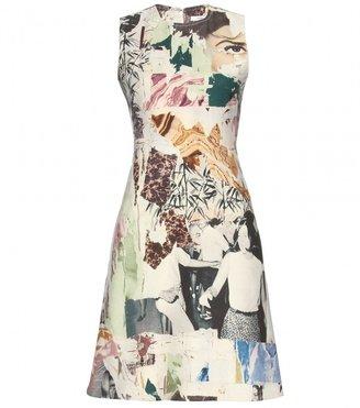 Carven PRINT WOOL-BLEND DRESS