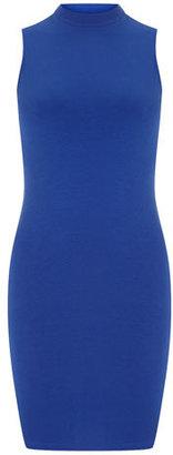 Dorothy Perkins Cobalt high neck dress