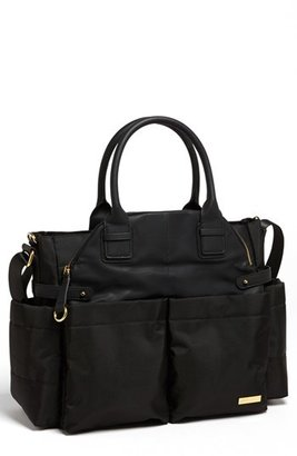 Infant Skip Hop 'Chelsea' Diaper Bag - Black $100 thestylecure.com