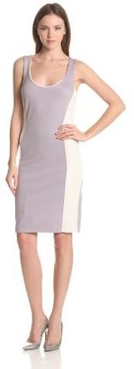 Velvet by Graham & Spencer Women's Color Block Ponte Dress