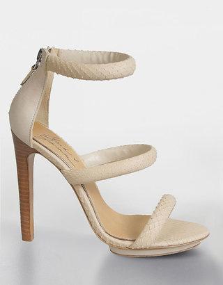 Mark & James by Badgley Mischka SHOES Malana Snake-Embossed Platform Sandals