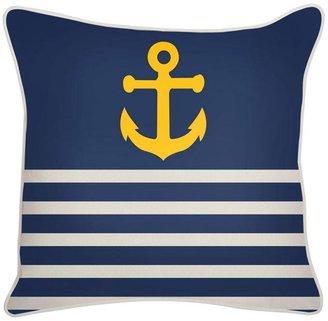 Thomas Paul Outdoor Denim Anchor Pillow