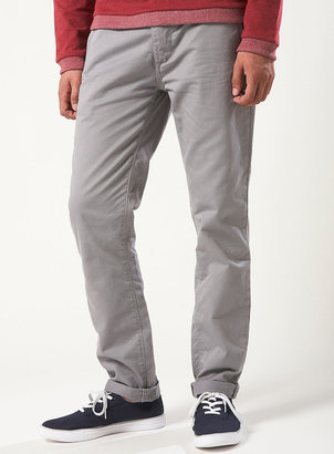 Topman Light Grey Skinny Chinos