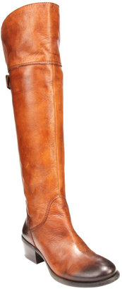 Vince Camuto Bollo Over-The-Knee Wide Shaft Leather Boots