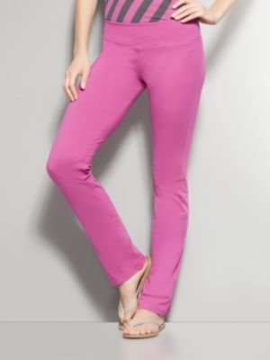 New York & Co. Basic Straight Leg Yoga Pant