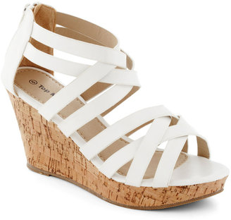 Tasting Tour Wedge in White