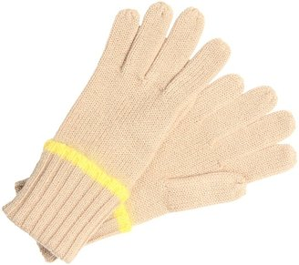 Juicy Couture Merino Lurex Gloves (Amaretti) - Accessories
