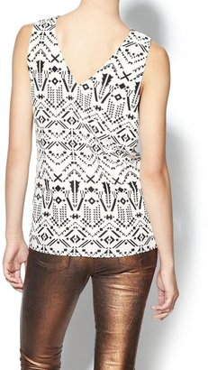 Juicy Couture Sabine Tribal Print Tank