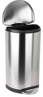 Simplehuman 30L Semi Round Deluxe Step Can