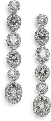 Adriana Orsini Faceted Linear Drop Earrings