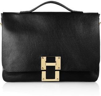 Sophie Hulme Leather satchel