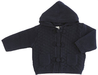 Cynthia Rowley Bundle-Up Toggle Sweater - Navy (12 Months)