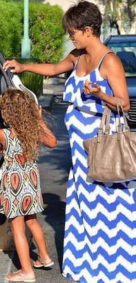 T-Bags Braided Back Maxi as seen on Halle Berry