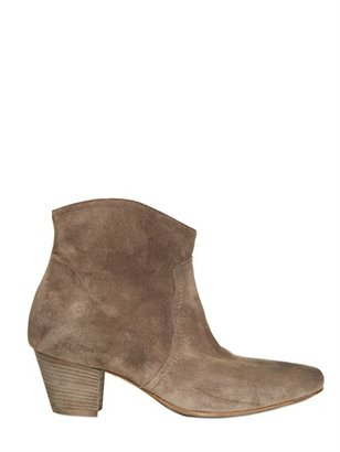 Strategia 50mm Suede Low Boots