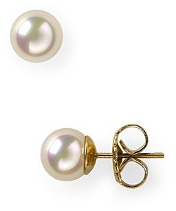 Majorica Simulated Pearl Stud Earrings, 8mm