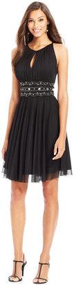 Jessica Howard Keyhole Embellished A-Line Dress $99 thestylecure.com
