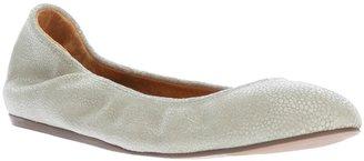 Lanvin round toe ballet flat