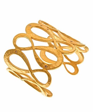 Evelyn Knight Gold Infinity Cuff